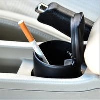LED Portable Car Ashtray Truck   Auto   Office Cigarette Ashtray Holder For Volkswagen VW POLO Golf 4 Golf 6 Golf 7 CC Any Cars