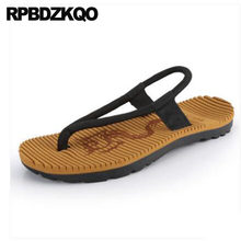75084e76dafb Designer Shoes Men High Quality Flip Flop Native Leather Sandals Thong Nice  Slippers Brown Japanese Beach Summer Slides Casual