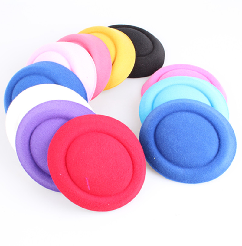 20 Color 16cm Fascinator Hats DIY Millinery DIY Hair Accessories Pillbox Fascinator Bases Mini Top Hats For Occasion MYQH020