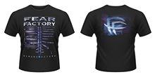 цена на Fear Factory 'Demanufacture Album' T-Shirt - NEW & OFFICIAL! T-Shirt Novelty Cool Tops Men'S Short Sleeve T Shirt