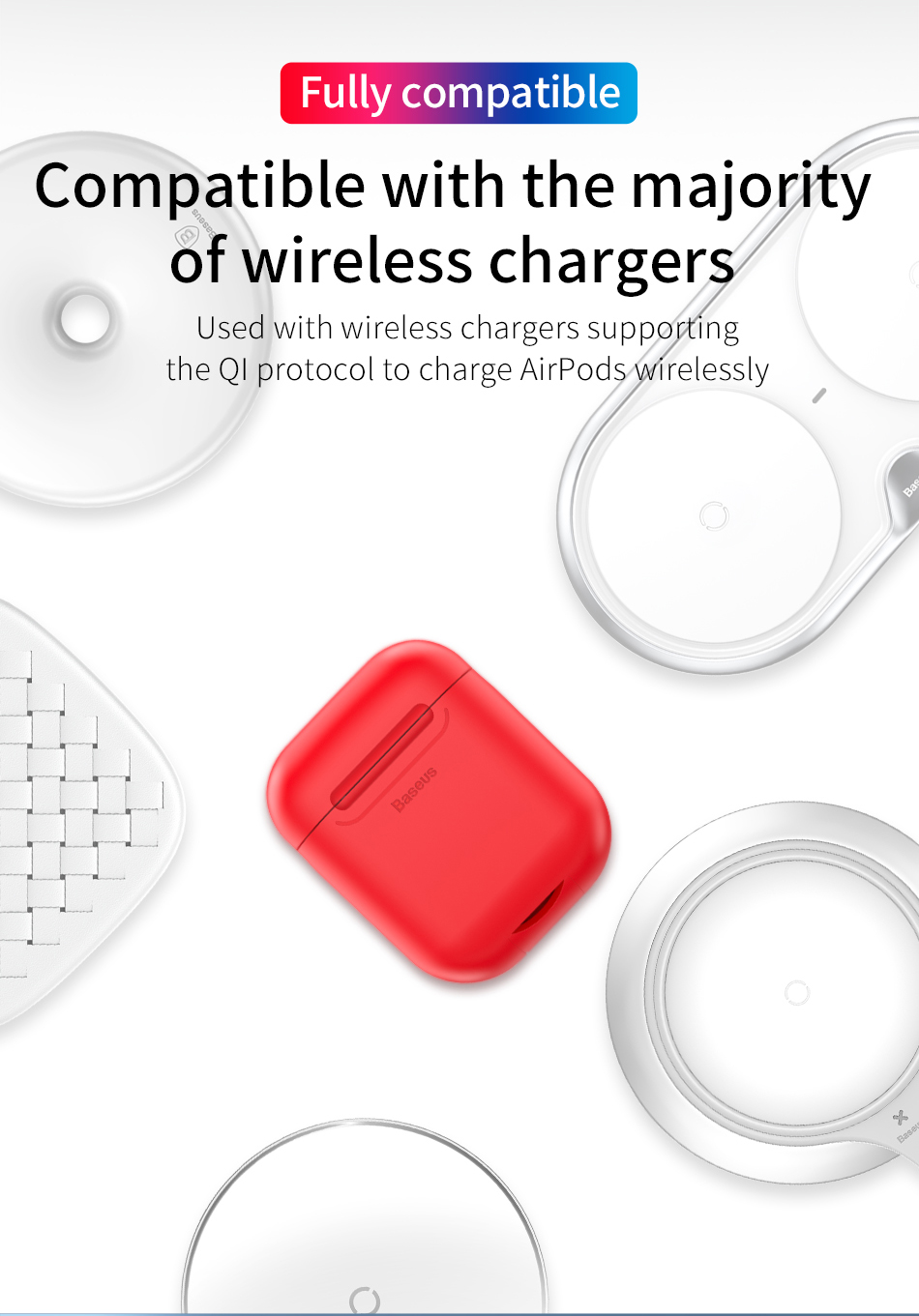 Baseus Wireless-Charging AirPods Case