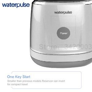 Image 4 - Waterpulse V700 avec 8 Buses de Jet Flosser Oral Dentaire Réservoir dEau de 1000 ml Irrigateur Conception Tactile Flux deau Irrigateur Dentaire Portable Imperméable à lEau