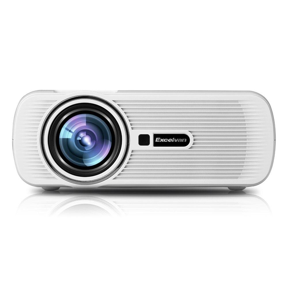 Mini Portable Lcd Multimedia Led Projector Full Hd 1080p: Original Excelvan Mini Portable Multimedia LCD LED