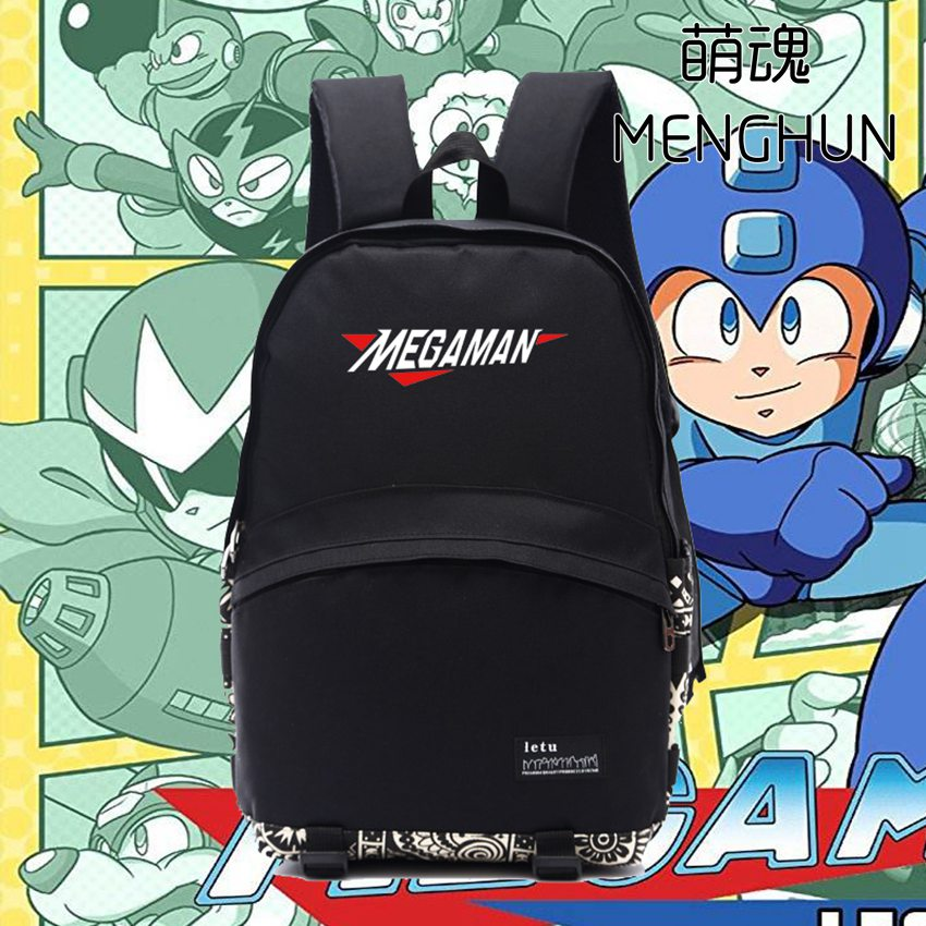 Retro video game console Magaman Rockman backpack MAGAMAN daily use nylon bag school backpacks FC/NES game bag NB179 sanwa button and joystick use in video game console with multi games 520 in 1