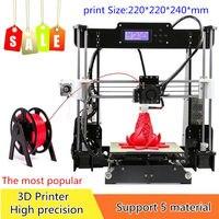 CTC A8 3D принтеры Drukarka Imprimante Prusa i3 DIY kit MK8 экструдер низкая цена наиболее популярные в Европе Корабль из Германии склад