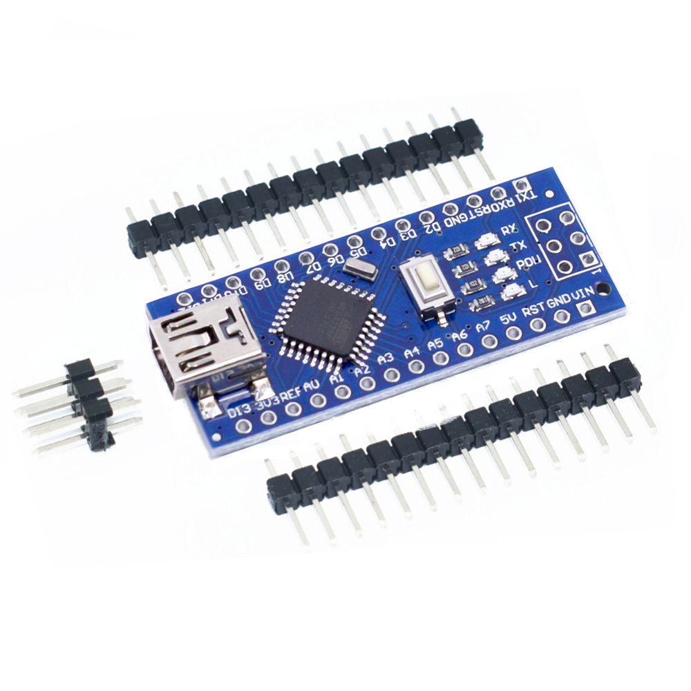 MINI CH340G USB Nano V3.0 ATmega328P 5 V 16 M Micro-controller board Per Arduino Nano Micro usb