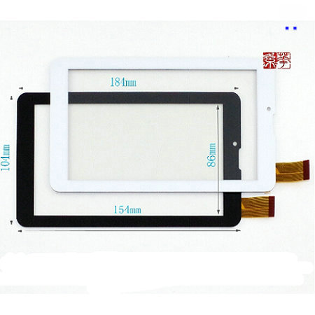 Witblue New Touch Screen Digitizer Glass Touch Panel Sensor Replacement Parts For 7 Irbis TZ703 3G / TZ702 3G / TZ701 3G Tablet