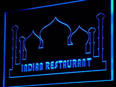 i812 Indian Restaurant Cafe Food NEW Decor Neon Light Light Signs On/Off Swtich 20+ Colors 5 Sizes image