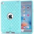 Новый Для iPad mini 4 Случаях Звезды Дети Baby Safe Силиконовый Чехол Броня Противоударный Heavy Duty Жесткий Tablet Чехол + Стилус