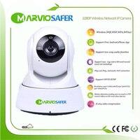 Marviosafer 720 P/1080 P Full HD 2MP câmera de Alta Definição IR Nigh Visão Câmera monitor do bebê sem fio wi-fi de rede IP PTZ Onvif/RTSP