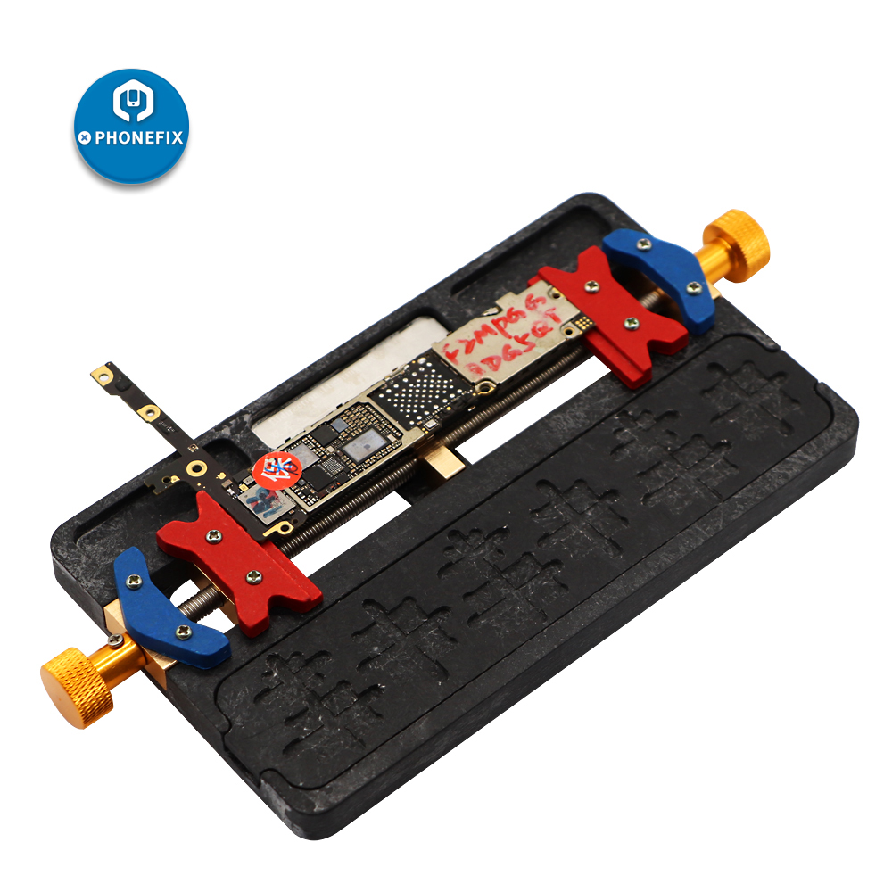 PHONEFIX NAND CPU IC Chips Glue Remove Soldering Repair Holder Fixture Motherboard PCB Repair Tool For IPhone Repair