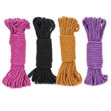 все цены на Good Quality Sex Toys 10m Adult Sex Product Bondage Rope Fantasy Play Strap Restraint Fetish SM Toys онлайн