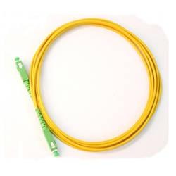 30 шт. оптоволоконный соединительный кабель, SC/APC-SC/APC, одиночный режим, симплекс, 3,0 мм, 3 м, высокая обратные потери