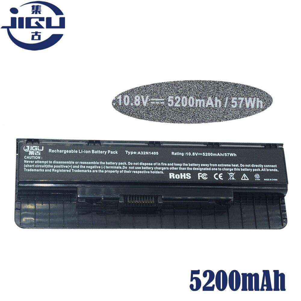 JIGU 11.1V เปลี่ยนแบตเตอรี่ A32LI9H A32N1405 A32N14O5 A32NI405 สำหรับ Asus G551 G551J G551JK G551JM G58JM G771 G771J G771JK