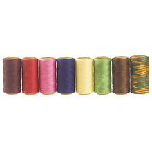 150D Meter Sewing Thread Polyester Cord Waxed 1mm flat thread 240 meters