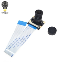 Best Price Raspberry Pi 3 Camera Focal Adjustable Night Vision 5 MP Camera Module Support Raspberry