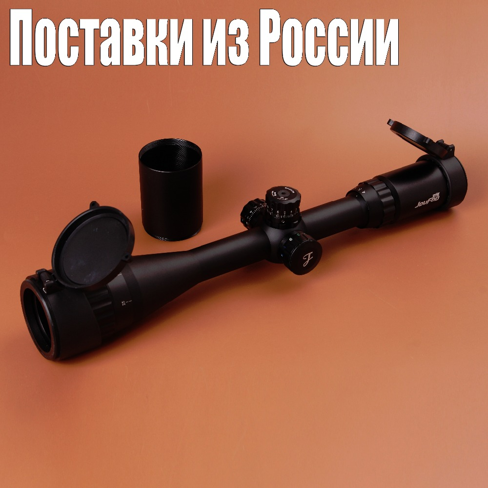 ФОТО Hunting Tactical JOUFOU 3-9X40 AOE Optical Sight Mil-dot Locking Resetting Rifle Scope
