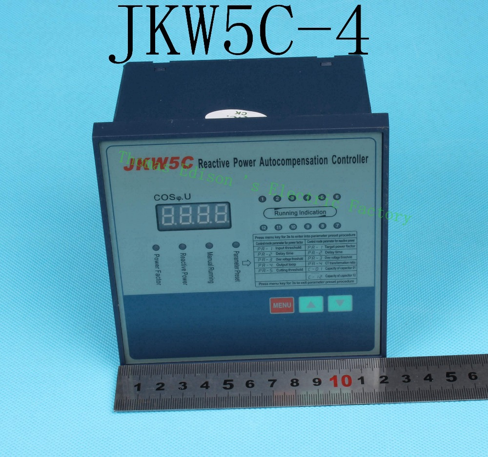 цена на JKW5C-4 Intelligent Reactive Power Autocompensation Controller compensation JKW5C