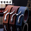 2016 New Hot Fashion mens belt luxury Brand designer belt men high quality PU Leather belts of men women belts Snake Buckle lady