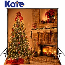 Kate Christmas Backgrounds Photography Warmth Indoor Photo Backdrops Christmas Trees Camera Fotografica For Photo Studio