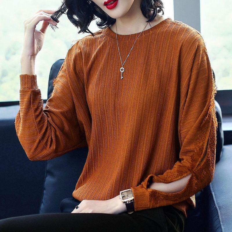 Plus Chemises Femmes D'été O Lâche Manches De Mode Blouse Personnalité Femme Casual Cou La Picture Nouvelle Tops Taille Marque L'europe A Chauve Trou 2018 As souris cAjLS35Rq4