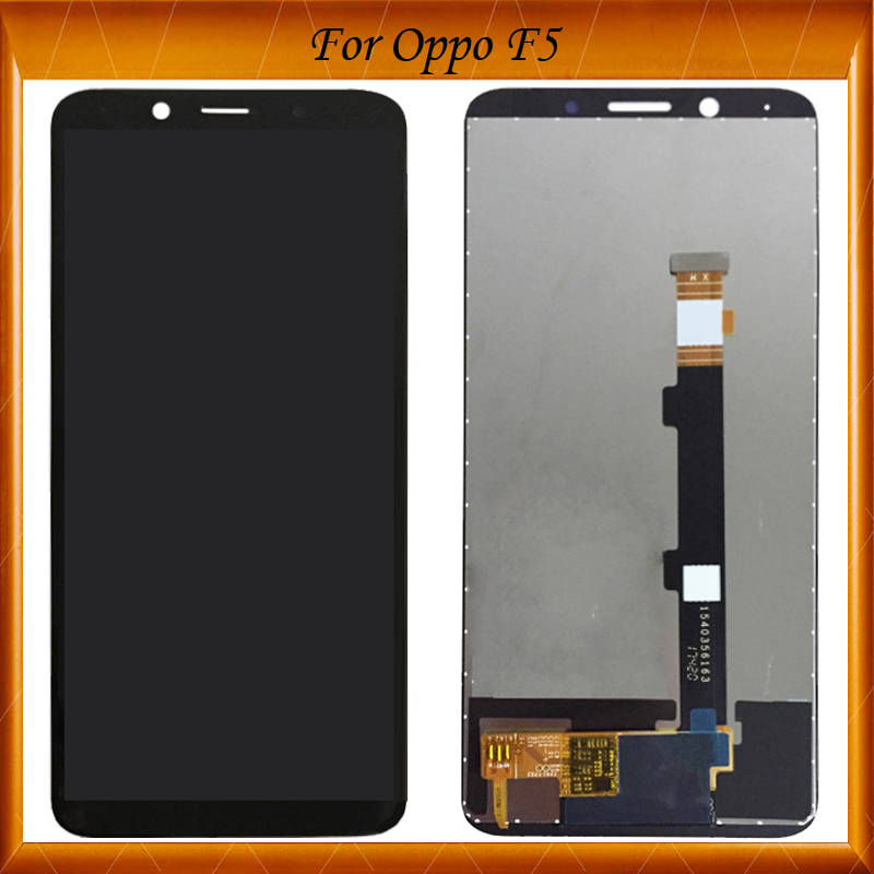 100% Working Well High Quality 6.0 inch NEW For <font><b>Oppo</b></font> <font><b>F5</b></font> LCD <font><b>Display</b></font> + Touch Screen Digitizer Assembly Replacement IN Stock image