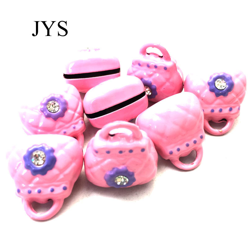 HOT SALE 30MM 10PCS/LOT JINGLE BELLS CHARMS BAG JINGLE BELLS CHAMRS FOR JEWELRY FINDING FOR BRACELET NECKLACE