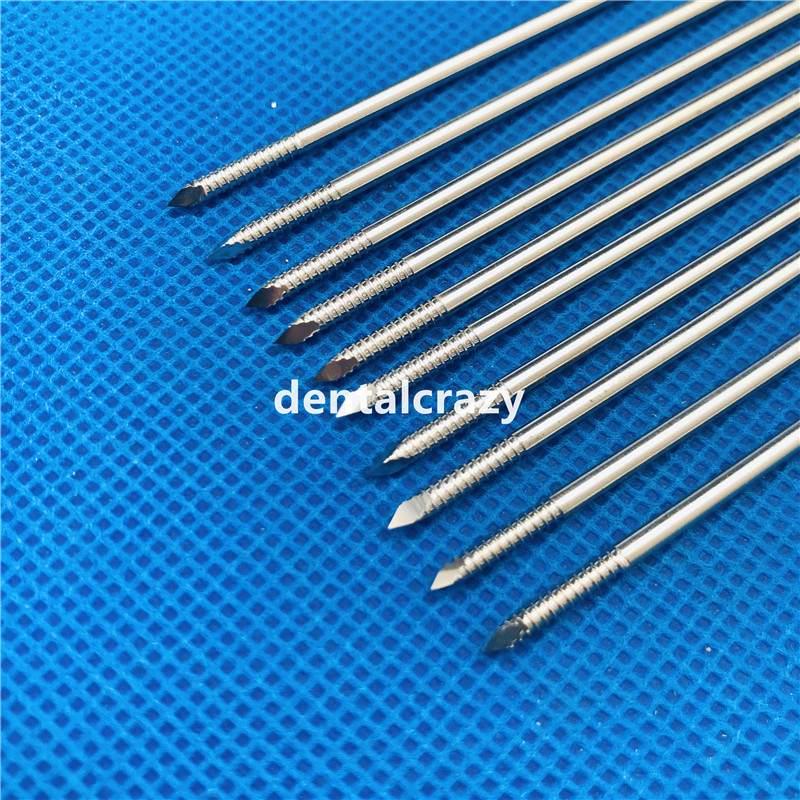 2019 HOT SALE 10pcs 1.0mm-4.0mm Nice Stainless Steel Partial Threaded Kirschner Wires Veterinary Orthopedics Instruments