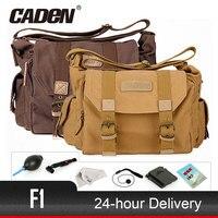 Top sale CADeN Camera Bag Sling Shoulder Bags Photo Video Soft Dslr Pack Case Travel Camera Cases For DSLR Canon Nikon Sony F1