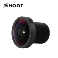 Disparar profesional de 170 grados HD ancho ángulo de la lente para Gopro héroe 2 1 Sport Cam Go Pro Hero accesorios para cámaras de acción