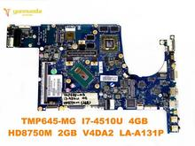 Original for ACER TMP645-MG P645 laptop motherboard TMP645-MG I7-4510U 4GB HD8750M 2GB V4DA2 LA-A131P tested good free shipping