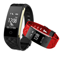 Bluetooth 4.0 S2 Smart Wristband Band Heart Rate Monitor Sport IP67 Waterproof OLED Smartband Bracelet For Android IOS Phone