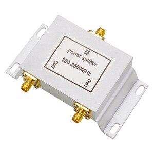 Image 5 - 2 полосный разветвитель мощности SMA типа, 380 ~ 2500 МГц для GSM UMTS WCDMA CDMA 2G 3G 4G lte, Мобильный усилитель сигнала, ретранслятор