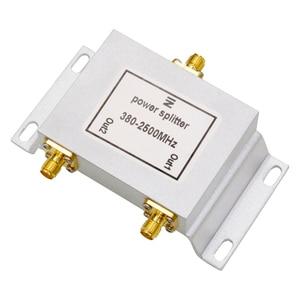 Image 5 - Divisor de Potencia Tipo SMA de 2 vías, divisor SMA de 380 ~ 2500MHz para repetidor de señal móvil GSM UMTS WCDMA 2G 3G 4G lte