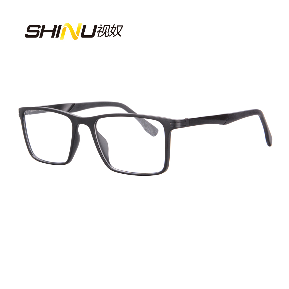 SHINU Anti Blue rays Progressive Reading Glasses Multi focal Reader See Near Far reading glasses men