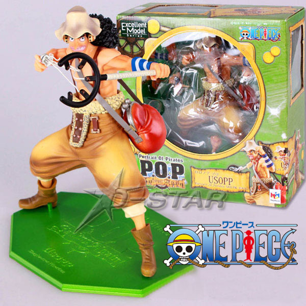 Free Shipping Cool 9 One Piece P.O.P DX Usopp After 2 Years Boxed 22cm PVC Action Figure Collection Model Toy Gift free shipping 5 7cm japanese one piece after 2 years pvc action figure tea lunch collection model toy 9pcs per set
