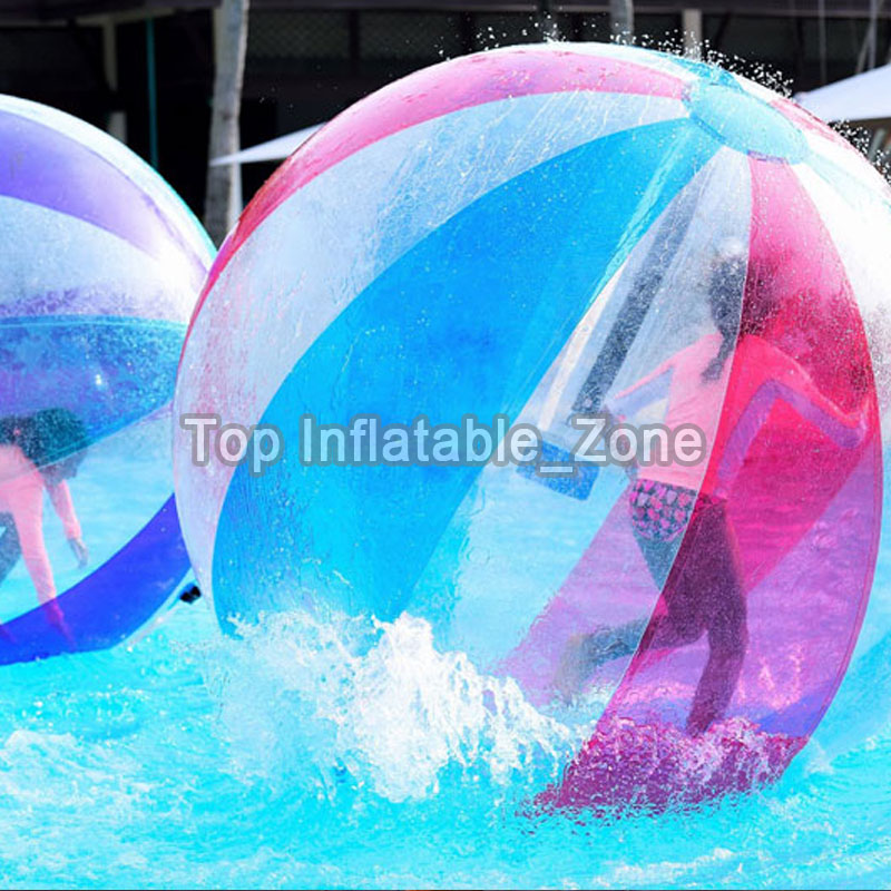 1.5/2M Dia Water Walking Ball For Sale TPU Material Dancing Ball For Human Top Quality Walk On Water Ball For Water Games Cheap