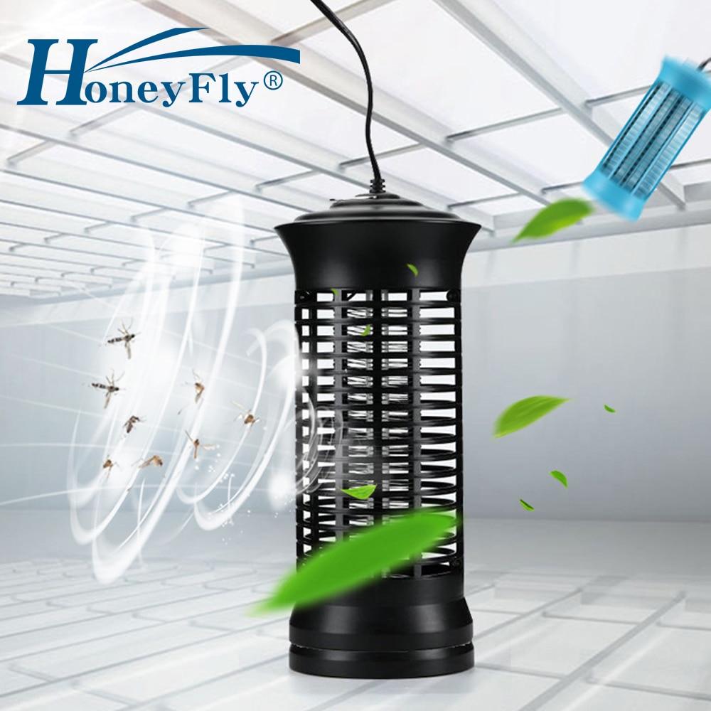 HoneyFly Electronics Mosquito Killer Light Lamps 110V/220V Night Light Fly Bug Practical Insect Killer Trap Lamp EU US Plug-in Mosquito Killer Lamps from Lights & Lighting