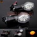 For SUZUKI SV 650N/S SV 1000N/S SFV 650 Gladius,GSX-R 600/750/1000 Motorcycle LED Turn Signal Indicator Light Blinker Lamp Clear