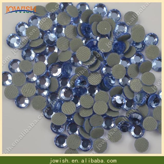 SS6 Sapphire heat transfer korean rhinestone 1000gross bag 16b97f7541ec