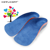 Children Kids Eva Orthopedic Insole Flat Feet Arch Support Foot Valgus Inside and outside characters Corrective Insoles Children