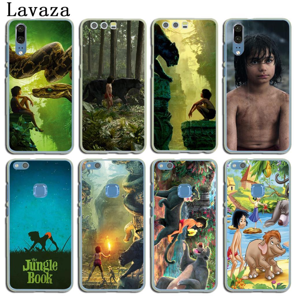 Lavaza The Jungle Book Hard Cover Case for Huawei P20 P10 P9 Plus P8 Lite Mini 2015 2016 2017 P Smart Mate 9 10 Lite Pro Case