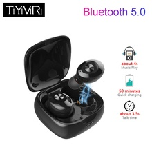 Newest Bluetooth 5.0 TWS Earphone Stereo Wireless Earphones IPX5 Waterproof  Headfree