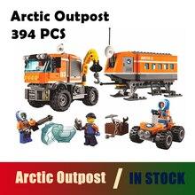 Compatível com lego city kits Modelo de construção BELA 10440 Posto Avançado Do Ártico Policiais Da Cidade 60035 blocos 3D Educacionais brinquedos hobbies