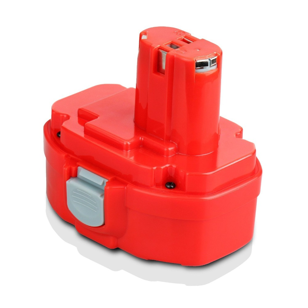 GTF 14.4 V 1.3Ah Ni-cd Remplacement Power Tool Rechargeable Batterie pour Makita 1412 S 1422 1433 1434 1435 1435F 192699-A PA14