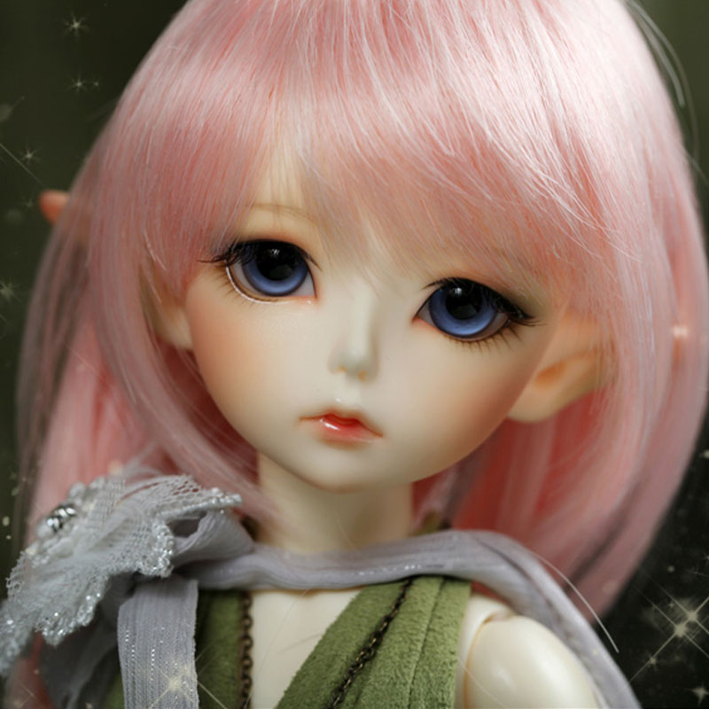 ShugoFairy Noia Lati green bjd sd dolls 1/6 body model reborn girls boys eyes High Quality toys makeup Free a pair of eyes 1 8 bjd sd doll wigs for lati dolls 15cm high temperature wire long curly synthetic hair for dolls accessorries high quality wig
