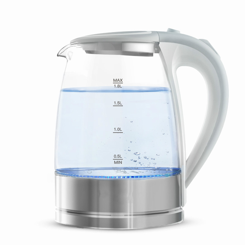 Electric kettle glass electric USES the stainless steel 304 capacity of for automatic power failure