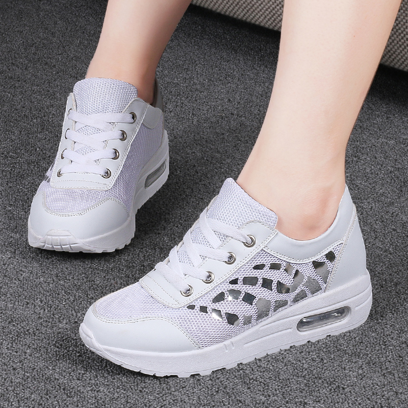 Trainers Women Casual Shoes Summer Style Outdoor Breathable Low Top Shoes Woman Flat Heels Sport Ladies Shoes Size 35-40 ZD71 (17)