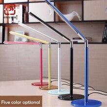 UNIFISH UF-001 Bright LED Table Desk Lamp Multipurpose Gooseneck LED Reading Light Rotatable Study Reading USB Adjustable Light