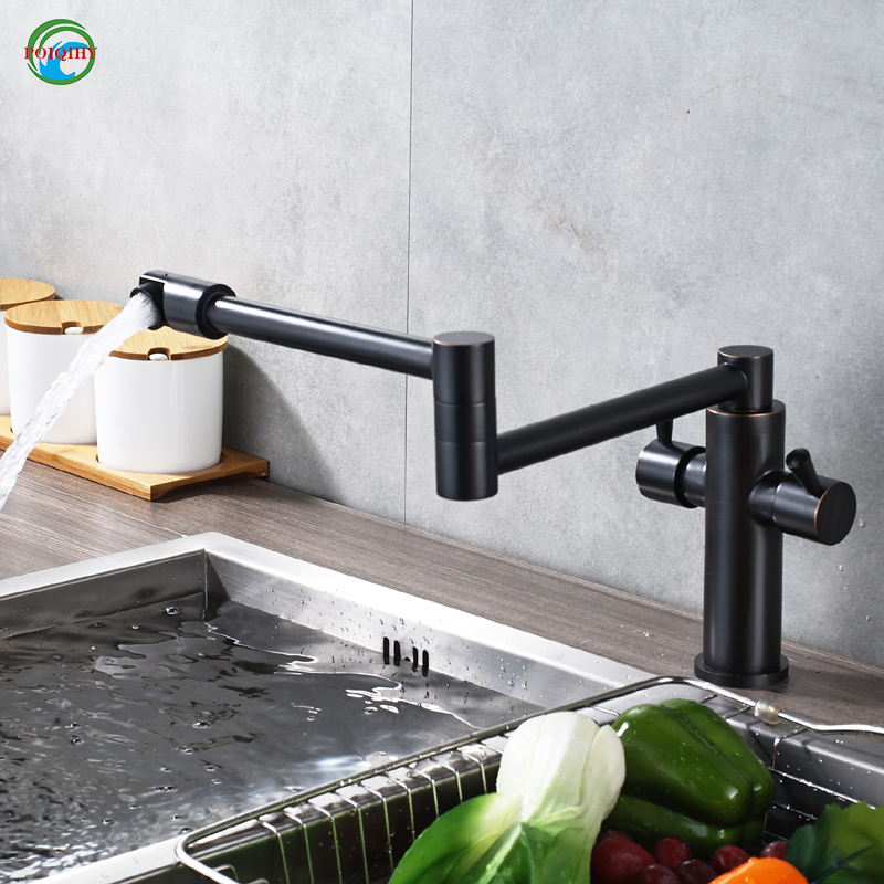 Convenient Folding Retractable Vegetables Basin Sink Faucet Deck ...